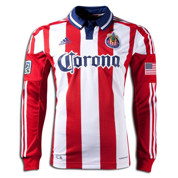 e2d01907b71 Chivas USA 2012 Authentic Home Jersey | Chivas USA Gear | Sports, Usa gear,  Tops