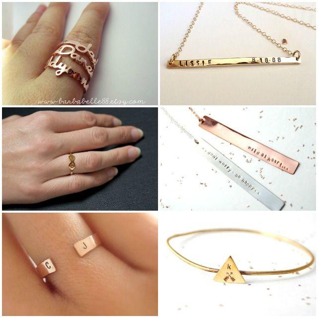 Bijoux bracelet et bagues