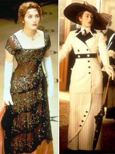 1f1f99de31 Kate Winslet in Titanic. Costume Design by Deborah Lynn Scott The Dinner  Dress