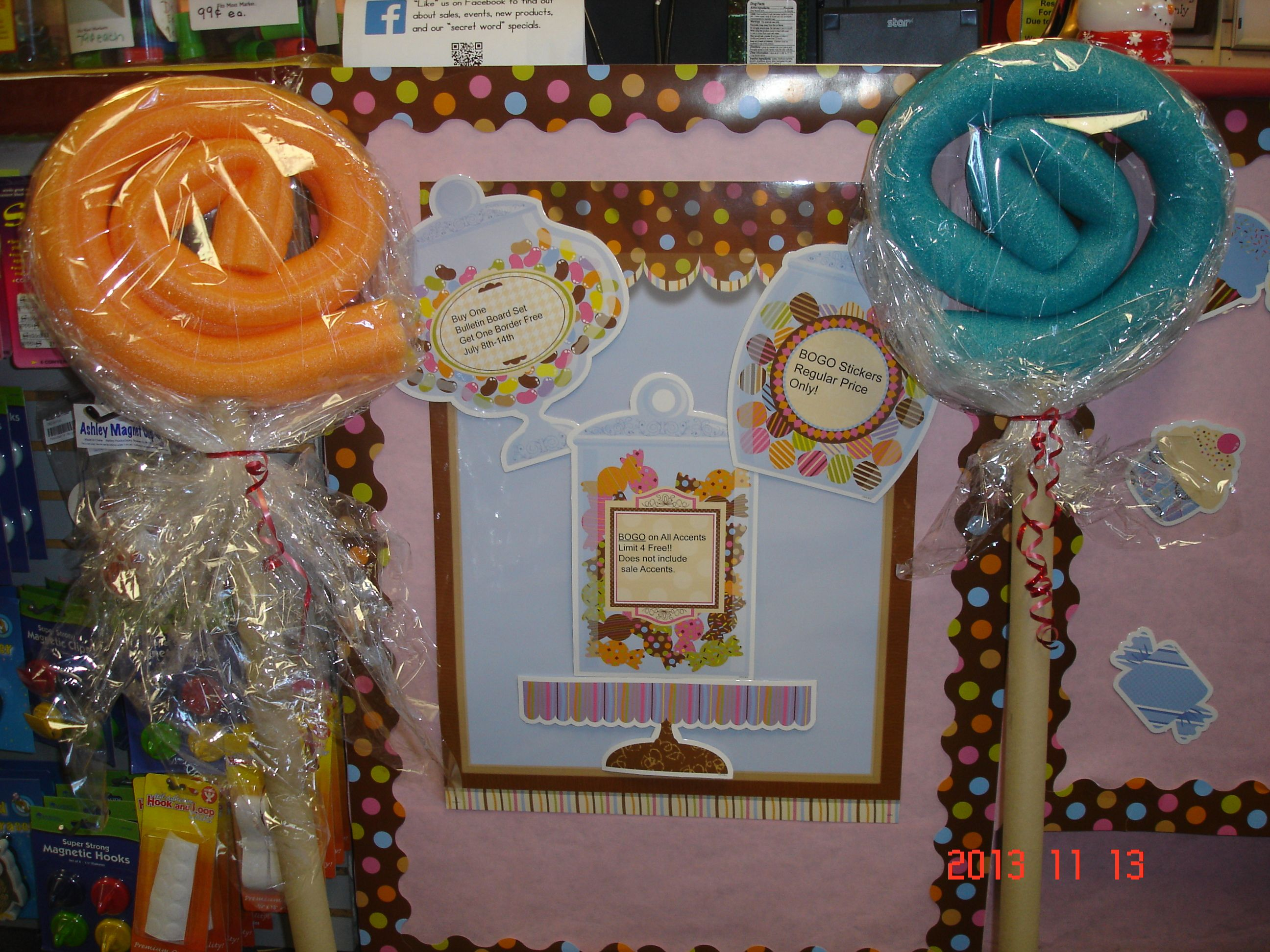 Creative Teaching Press Sweet Shoppe Bulletin Board Set
