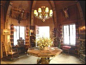 Adirondack lodge style decorating :: last Great Camp, Camp Wonundra ...