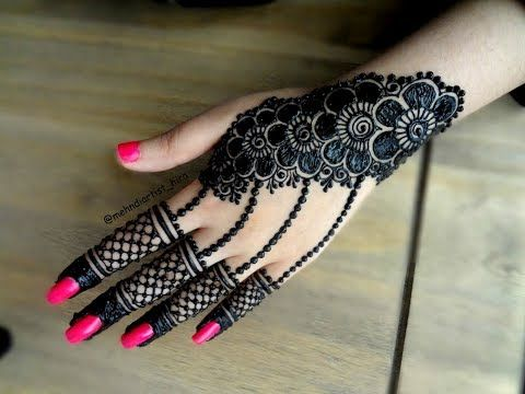 Fingers Mehndi Pics : New beautiful diy fingers mehndi design classic henna