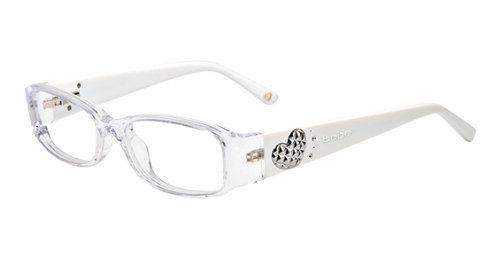 Bebe Eyeglasses Bb5032 001 Crystal 49mm   Clothing   Accessories ... 4389412b5d