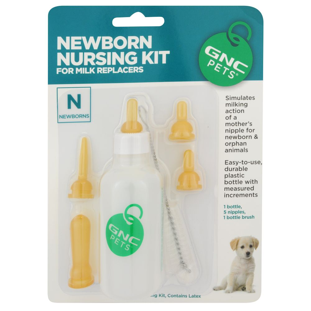 GNC Pets Ultra Mega Newborn Puppy Nursing Kit size 2 Fl