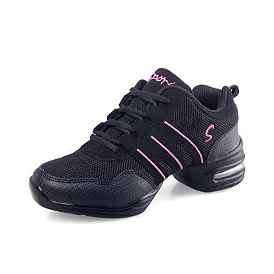 Leather Upper Dance Sneakers