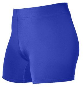 nice Alleson 825V4P Women s Low Rise Volleyball Shorts RO - ROYAL WXS - 4 INSEAM