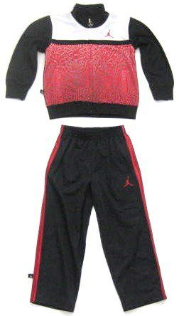 Nike Jordan Toddler Boys / Girls Tracksuit in Red, Black (Track Suits)