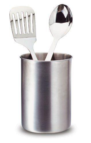 Toolbar Stainless Steel Kitchen Utensil Holder By Toolbar 22 99 Dishwasher S Stainless Steel Kitchen Utensils Kitchen Utensil Holder Stainless Steel Kitchen