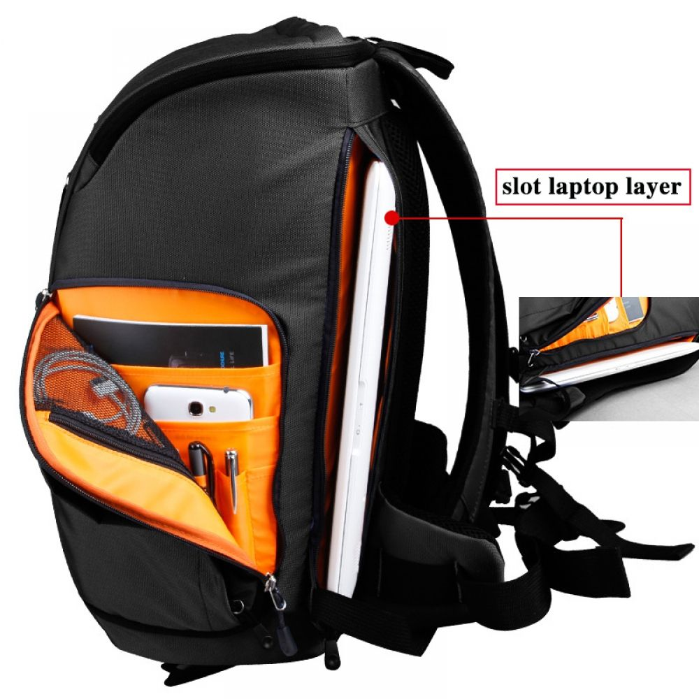 Kingsons Brand New Backpack for Men Women Digital DSLR Photo Padded Backpack  With Rain Cover Waterproof Camera Video Solid Bag Price  1101.95   Flat  Rate ... 64aaaef6850a8