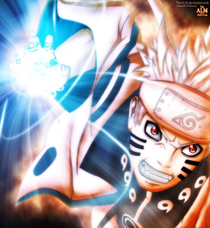 Naruto Bijuu Rasengan 598 By Thealm On Deviantart Naruto Naruto Uzumaki Naruto Shippuden