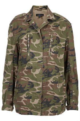 Tall Camo Army Jacket