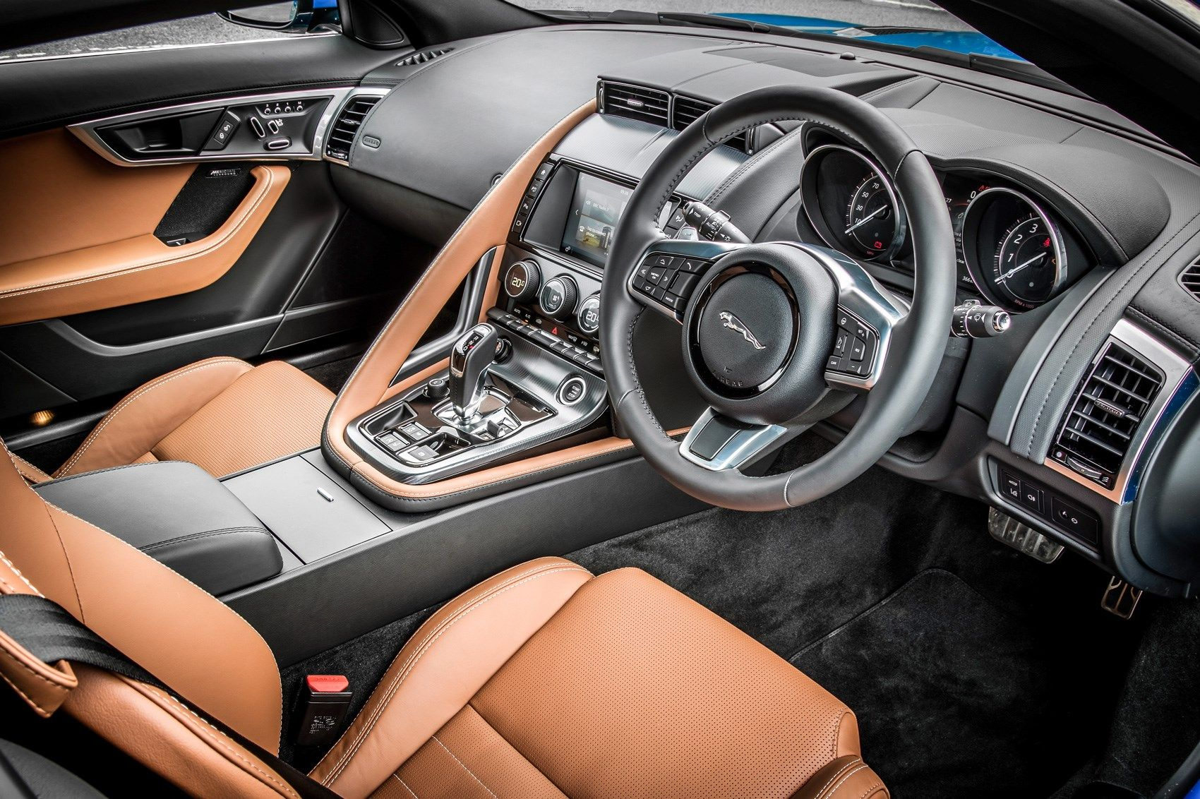 Best Of 2017 Jaguar F Type Coupe Interior And Review In 2020 Jaguar F Type Jaguar Luxury Car Interior