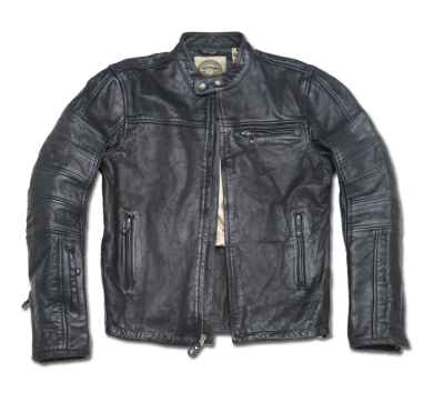 "This is not just your ""trendy"" motorcycle ""style"" jacket. This is the real McCoy. From Roland Sands Design the supplies of real motorcycle parts and accessories comes this amazing range of leather jackets. These are the perfect finishing touch for any guy, whether he rides a bike or not. $590.00"
