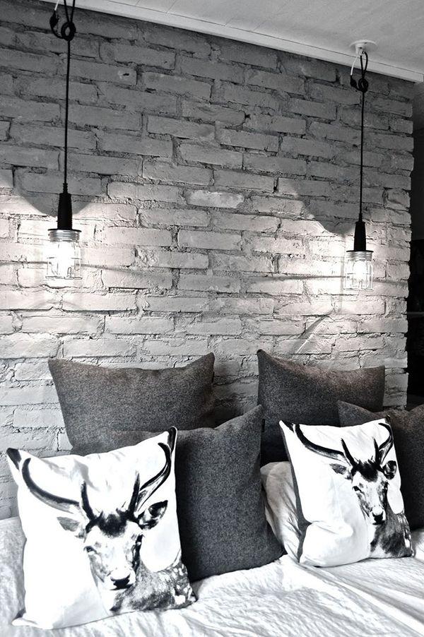 Powiedz Mi Jak To Zrobic Z Lozka I Powiedziec Jak Dekorowanie Domu Jest Facilisimo Com Ladrillos Pintados Paredes De Ladrillo Y Dormitorios