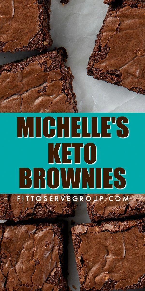 Michelles Keto Brownies - Keto Brownies - Ideas of Keto Brownies -  If you are a fan of brownies d