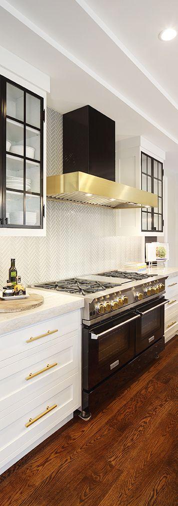 Innovative Kitchen Design Fascinating Innovative Kitchen Design With White Cabinets Black Blue Star Design Inspiration