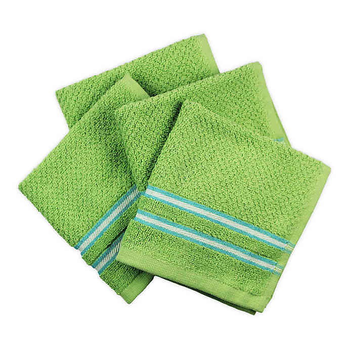 Freshee Stripe Dish Cloths (Set of 4) in 2020 Striped