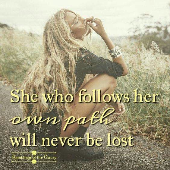Independent Woman - Will Never Be Lost ...
