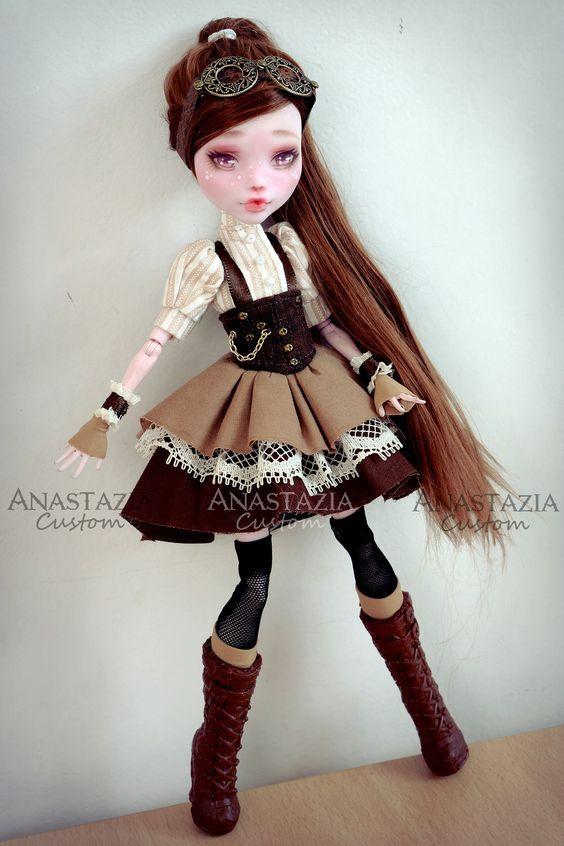Monster High custom OOAK  Customized doll Steampunk: