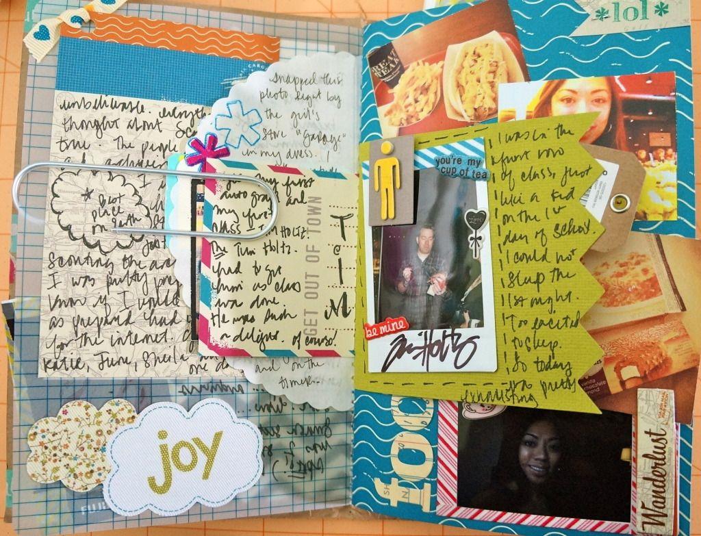My Amy Lyons Lyons Lyons Tangerine Scrapfest Daybook Of Tim Holtz