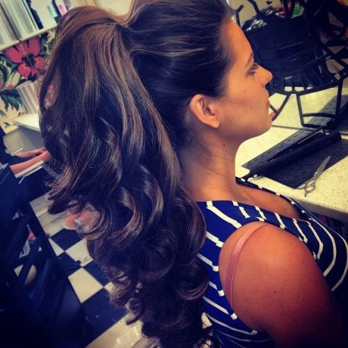 15 Latest And Trending Long Ponytail Hairstyles Styles At Life Hair Styles Long Ponytail Hairstyles Hair