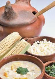 Chupe de pollo con maíz - Recetas