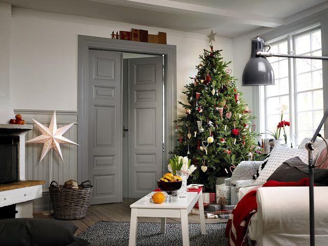 Christmas interior ikea ♥ seasons: winter pinterest kerst