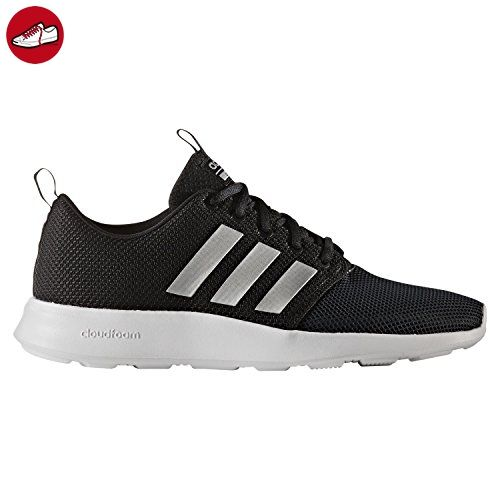 AW4154|adidas Cloudfoam Swift Racer Sneaker Schwarz|44