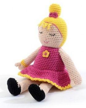 Smallstuff, pink Olivia dukke hos Miniaturen.dk. Se alle de nye modeller og alt det fine tilbehør til både babyer og større børn på hjemmesiden netop nu:)