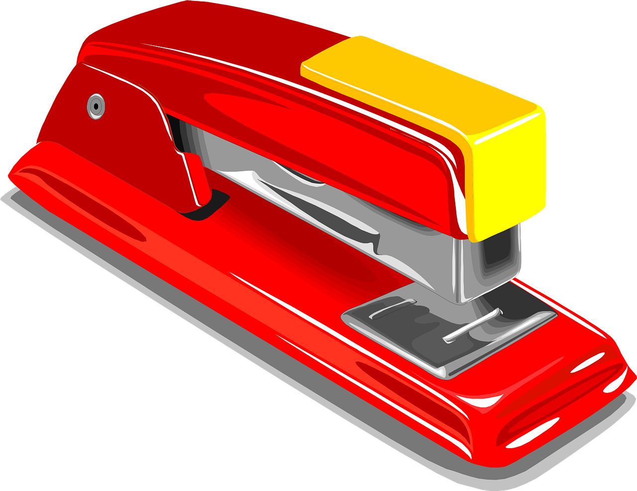 Free Image on Pixabay Stapler, Staple, Stapling, Red