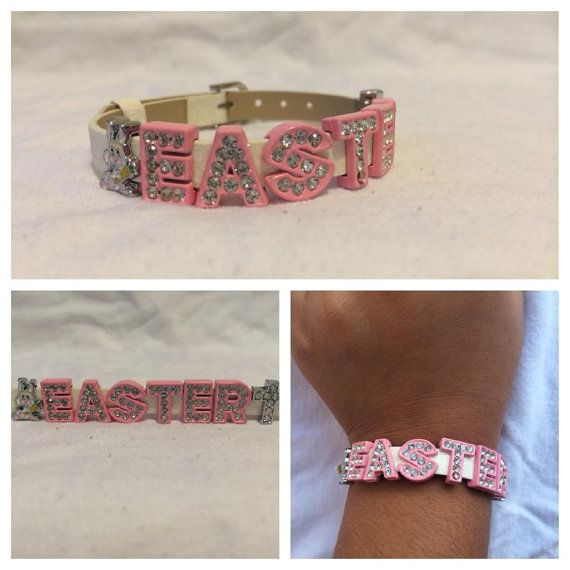 Little Girl Easter Charm Bracelet