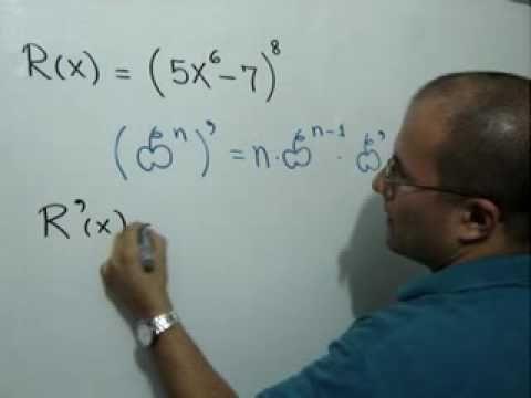 Derivada Con La Regla De La Cadena Para Potencias Julio Rios Explica Cómo Derivar Una Función Utilizando La Regl Ecuaciones Cuadraticas Ecuaciones Matematicas