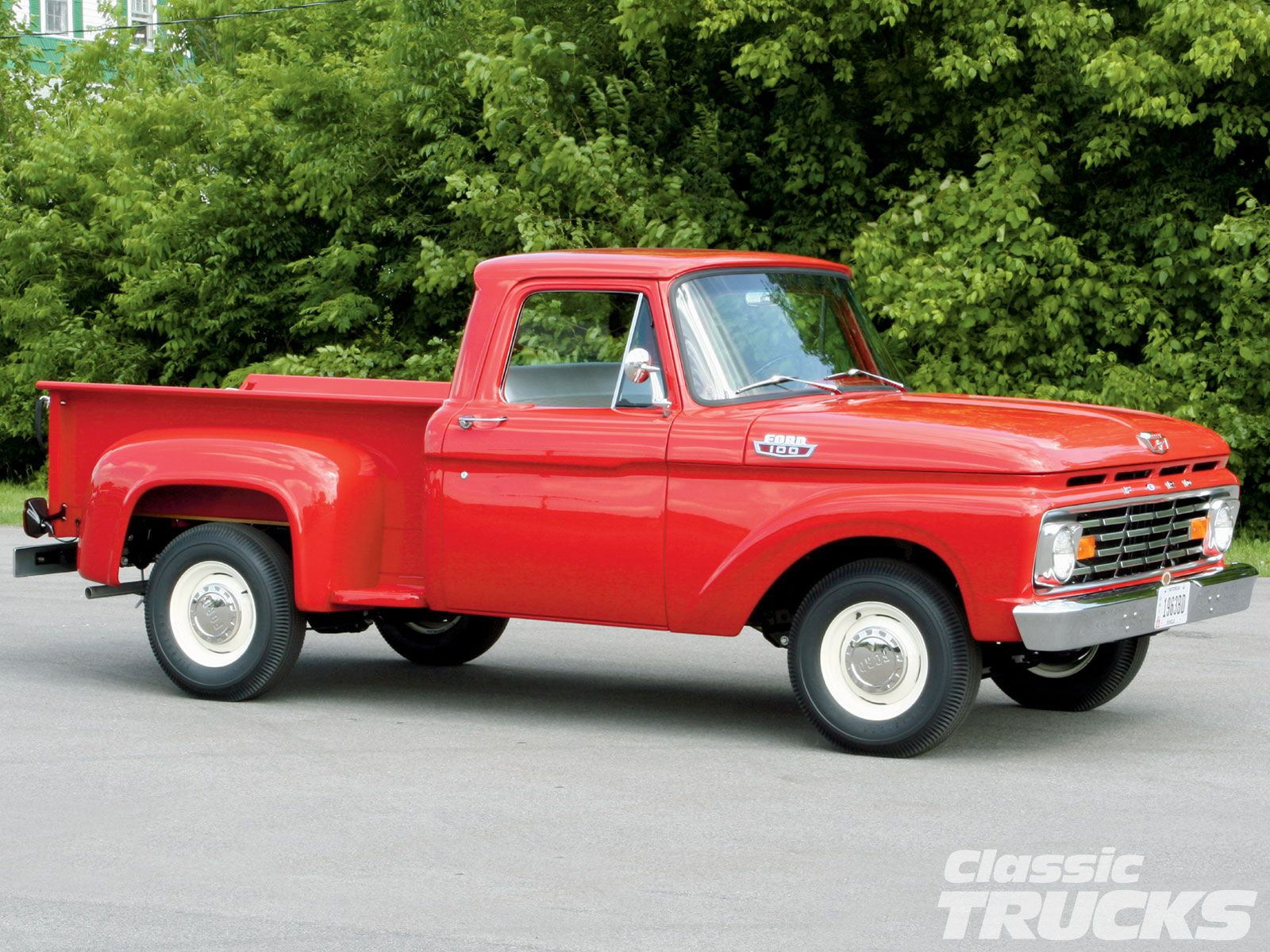 1963 Ford F100 Stock step side