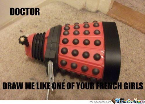 Dalek French girls
