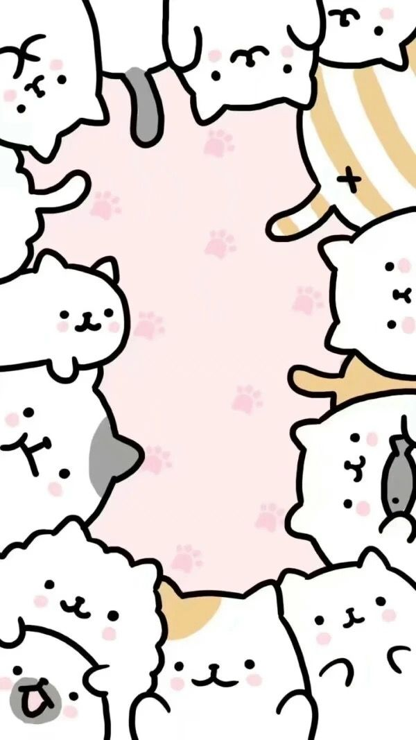 Pin By Cassy On Wallpaper Phone Cute Cat Wallpaper Cute Wallpapers Kawaii Cat