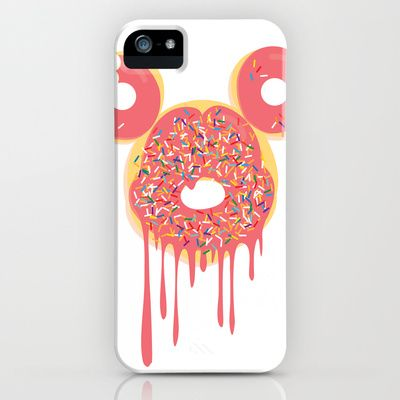 Donut Mickey iPhone & iPod Case by thatonebrand - $35.00