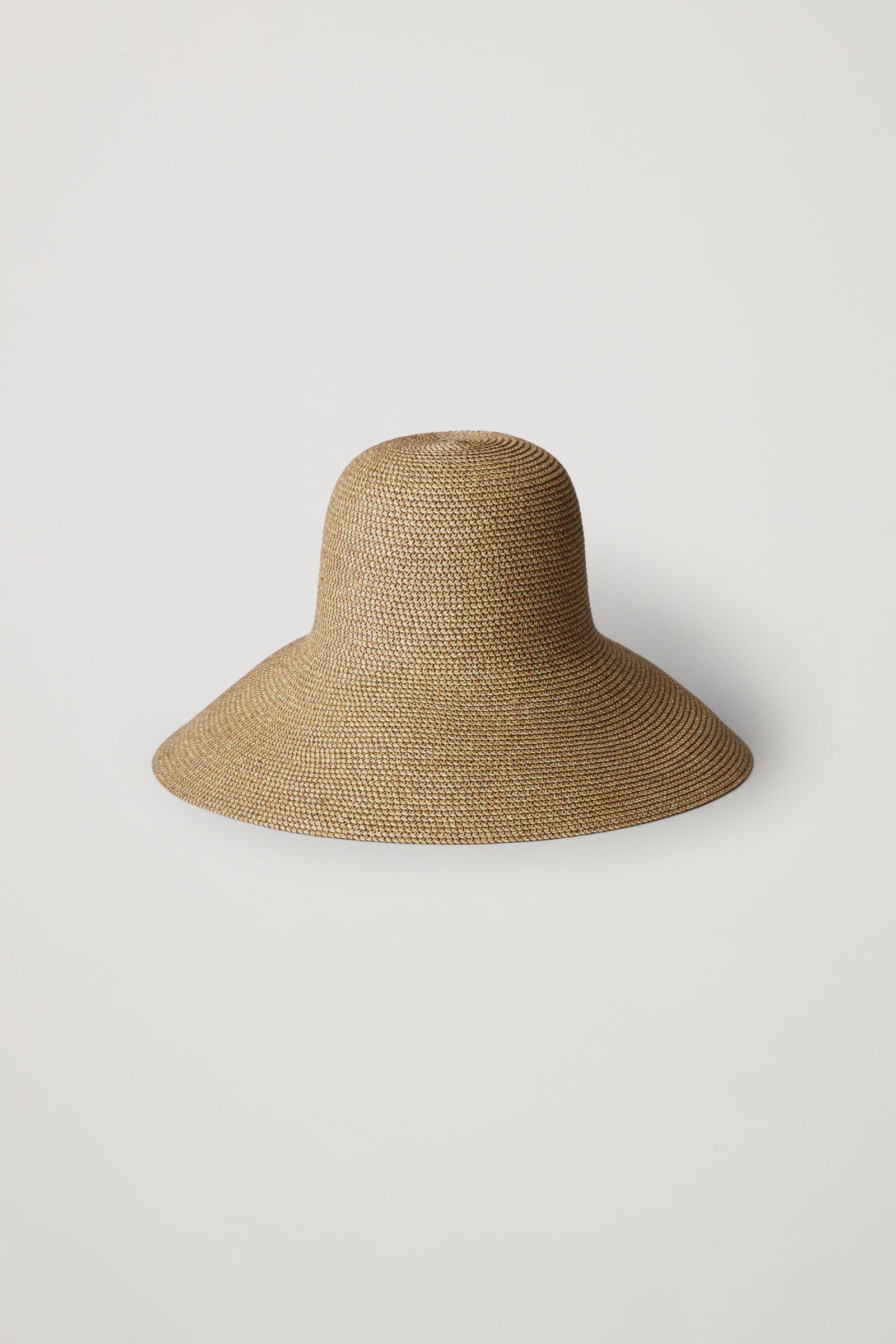 aea24b545 COS | Wide-brim straw hat | Minimal Women's Fashion in 2019 | Hats ...