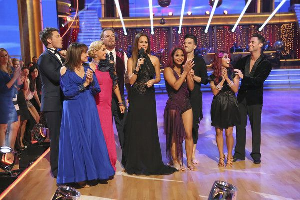The cast  ... Dancing with the Stars ... week 1 ... season 17 ... fall 2013