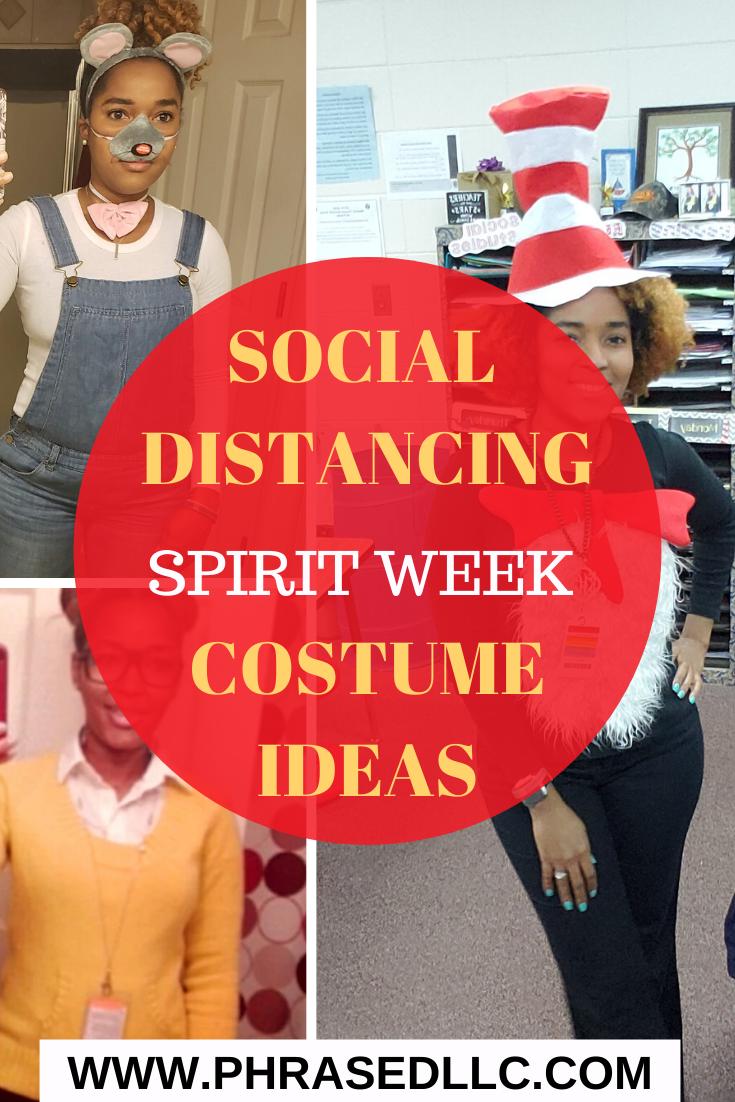 Social Distancing Spirit Week Costume Ideas Homecoming Spirit Week Homecoming Spirit Spirit Week