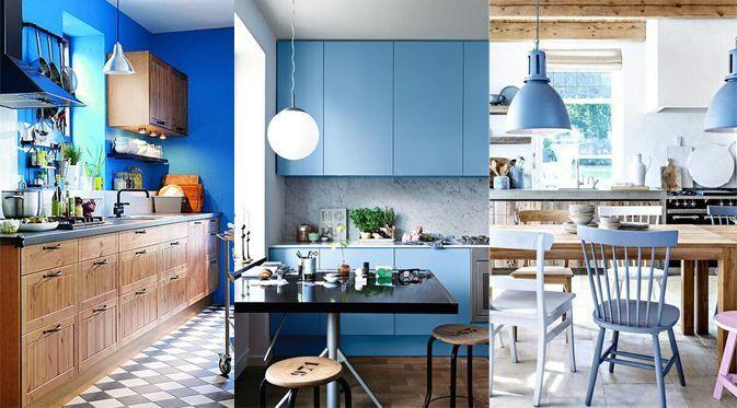 25 idées de cuisine bleue ! :http://jefouinetufouines.fr/2014/10 ...