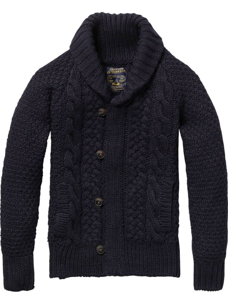 Knitting Mens Sweater : Shopping guide cardigan sweaters for men knit shawls