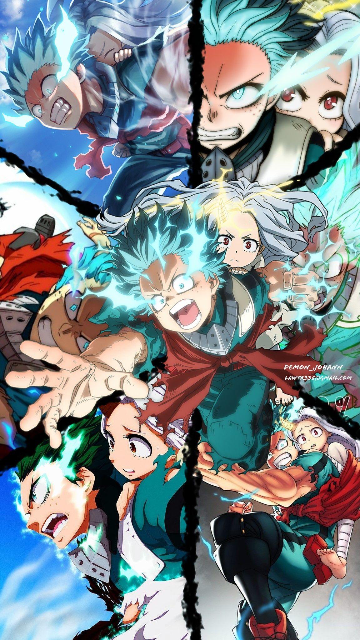 Izuku Midoriya One For All 100 My Hero Academia Boku No Hero Deku In 2020 Hero Poster Anime Wallpaper My Hero Academia Episodes