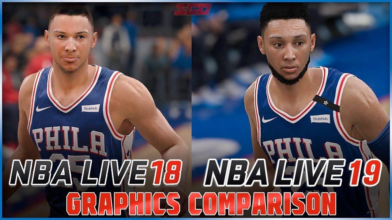 2e172ea5eab NBA Live 19 vs NBA Live 18 Graphics Comparison