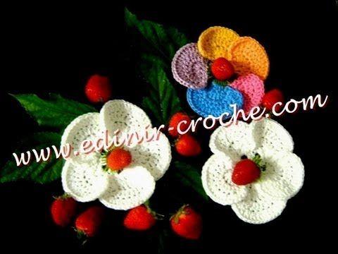 CROCHE FLOR MODELO 047 PARTE 2 FIM - YouTube | crochet videos ...