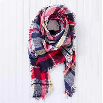 Bountiful Blanket Plaid Scarves