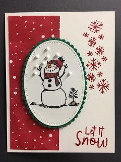 Let it Snow,Let it Snow Embellishment Kit, Stampin