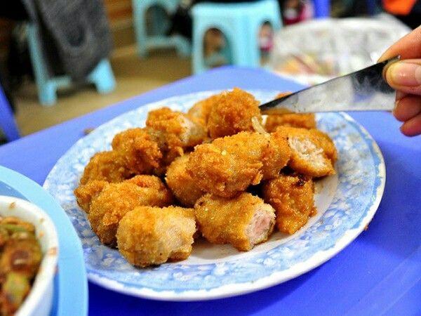 Fried ferment pork roll