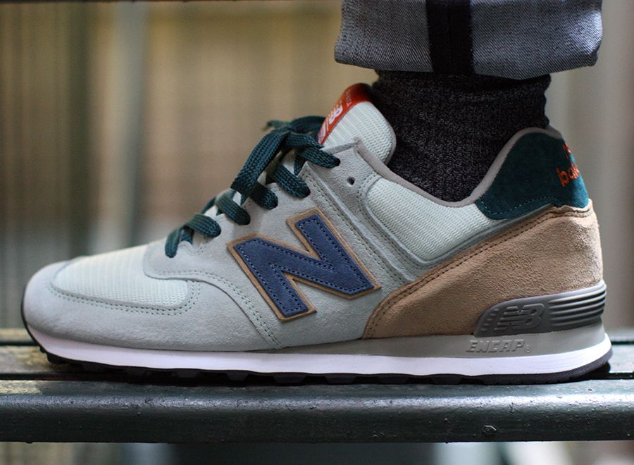 new balance 574 material science