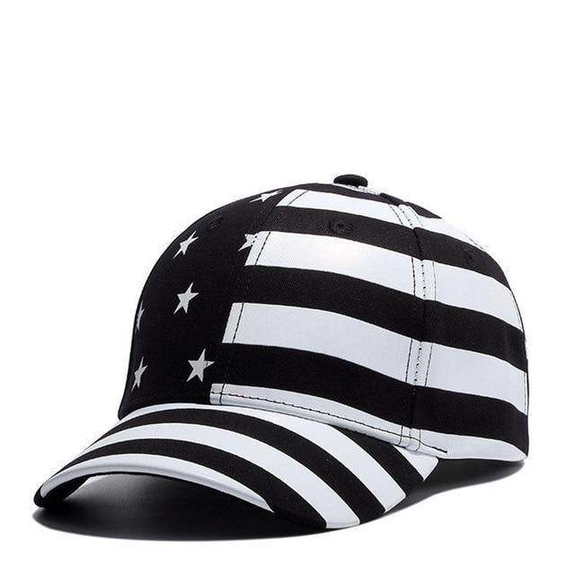 f4eb534f760 Wuke Brand New USA Baseball Cap America Flag Hat Bone Gorras Beisbol ...