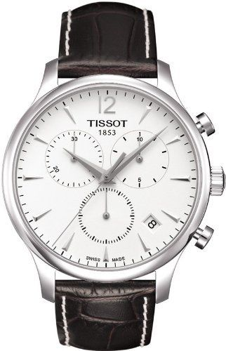 ec4ee58274c Tissot Men s T063.617.16.037.00 Silver Dial Tradition Watch Tissot.   360.00. Quartz. Antireflective sapphire. Water resistant to 30 m (99 feet).
